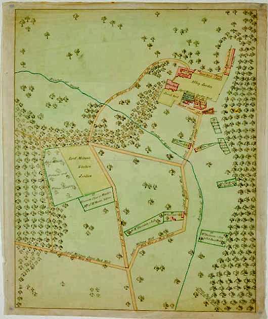 Map Of England Milton.Milton Abbas Dorset England
